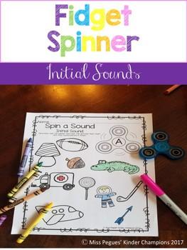 Fidget Spinner Initial/Beginning Sounds