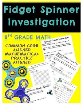 Fidget Spinner Math Investigation Scatter Plots and Data Displays