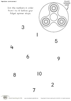 Fidget Spinner - Join the Numbers