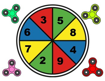 Fidget Spinner Long Division