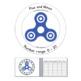 Fidget Spinner Math:  Addition, Subtraction 0 - 20