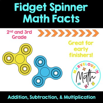 Fidget Spinner Math Facts