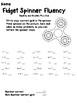 Fidget Spinner Math Fluency