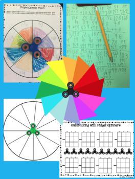 Fidget Spinner Math Game