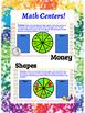 Math Centers- Fidget Spinner Math Game Boards Bundle