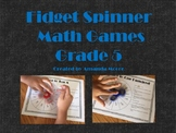 Fidget Spinner Math Games Fifth Grade