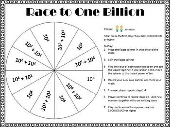 Fidget Spinner Math Games Fifth Grade