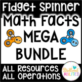 Fidget Spinner Math MEGA BUNDLE ALL RESOURCES ALL OPERATIONS