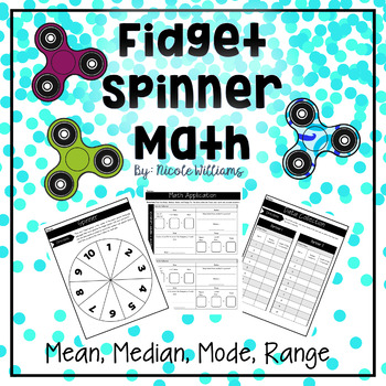 Fidget Spinner Math Teaching Resources | Teachers Pay Teachers