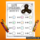 Fidget Spinner Math! Addition, Subtraction and Multiplication Games!