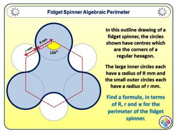 Fidget Spinner Math Powerpoint Fully Editable Version
