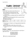 Fidget Spinner - Math, Science, Rotation Geometry