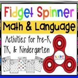 Fidget Spinner Math and Literacy Academic Activities