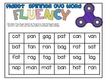 Fidget Spinner Math and Literacy Activities Sampler Pack