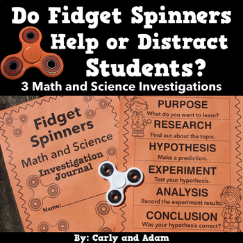 Fidget Spinner Math and Science: Do fidget spinners help or distract students?