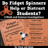 Fidget Spinner Math and Science: Do fidget spinners help o