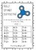 Fidget Spinner Maths