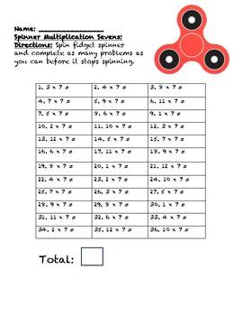 Fidget Spinner Multiplication