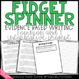 Fidget Spinner Opinion and Informative Writing Prompt // Distance Learning