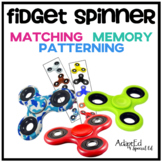 Fidget Spinner Matching Memory and Patterning