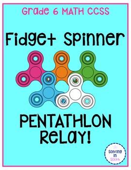 Fidget Spinner Pentathlon Relay
