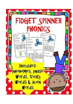 Fidget Spinner Phonics