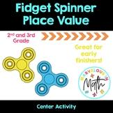 Fidget Spinner Place Value