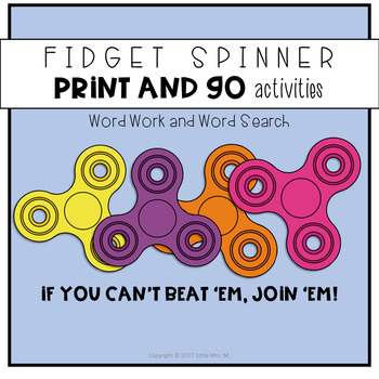 Fidget Spinner Print-and-Go Fun
