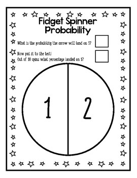 Fidget Spinner Probability