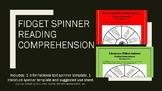 Fidget Spinner Reading Comprehension