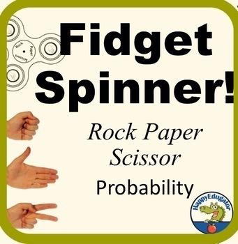 Fidget Spinner Rock Paper Scissors Probability Game