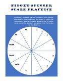 Fidget Spinner Scale Wheel