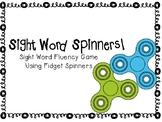 Fidget Spinner Sight Word Fluency Game