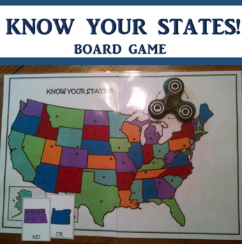 Fidget Spinner United States Game