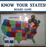 Fidget Spinner United States Game
