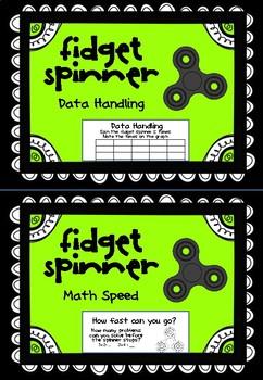 Fidget Spinner Station Activities - Math, English, Art, P.E.