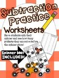 Fidget Spinner Subtraction Practice (Subtracting Within 20