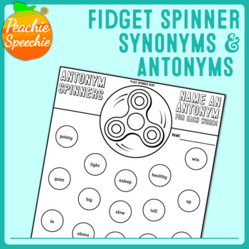 Fidget Spinner Synonyms and Antonyms
