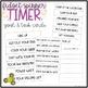 Fidget Spinner TIMER {Classroom Management  & Goal Setting Tool}