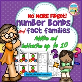 Part whole Number Bonds and Fact Families Addition & Subtraction
