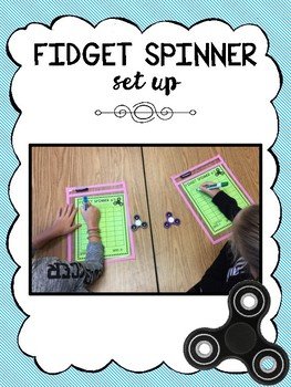 Fidget Spinner Timer Multiplication Fluency Game