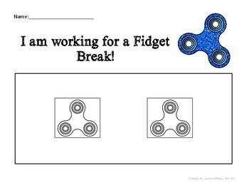 Fidget Token Board FREEBIE