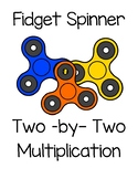 Fidget Spinner Two - by - Two Multiplication