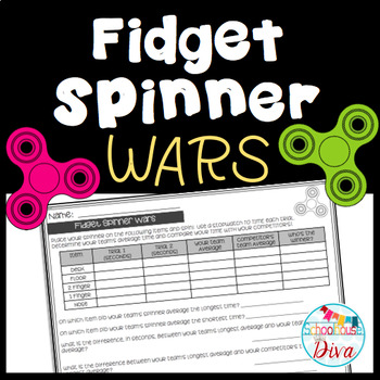 Fidget Spinner Math Wars