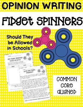 Fidget Spinner Writing (Opinion)