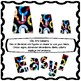 Fidget Spinner inspired clip art letters and bulletin board letters