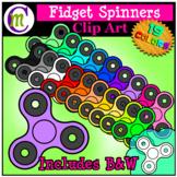 Fidget Spinners Clip Art CM