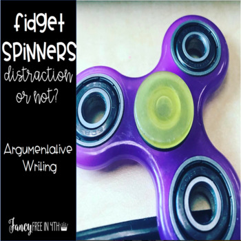Fidget Spinners: Distraction or Not? {A Persuasive Writing