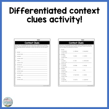 Fidget Spinners Informational Text Passage and Activities - Differentiated