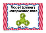 Fidget Spinners Multiplication Race